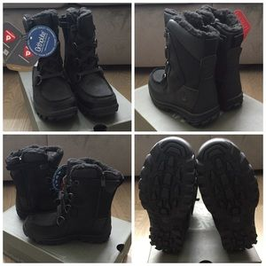 NIB Timberland Chillberg Blck Winter Boots Toddler NWT